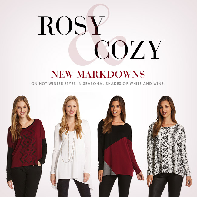 New Markdowns on Hot Winter Styles