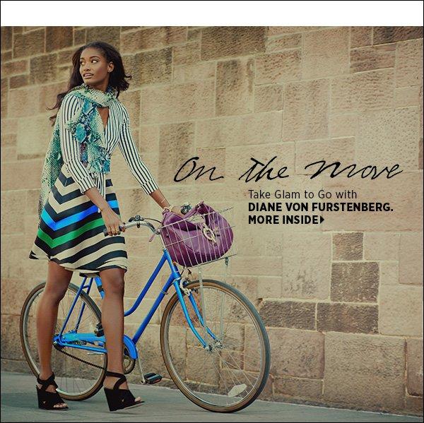 Take glam to go with Diane von Furstenberg's dynamic resort collection.  >>