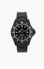 BLACK LIMITED EDITION Matte Black Limited Edition Rolex Sea Dweller Watch for men