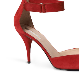 Red D' Orsay Heel