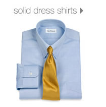 Solid Dress Shirts
