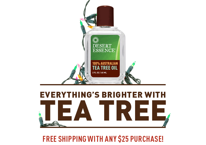 Everything's Brighter with Tea Tree