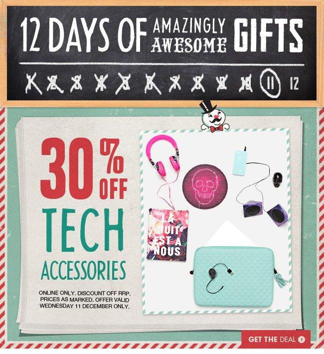 Tech Accessories 25% off!
