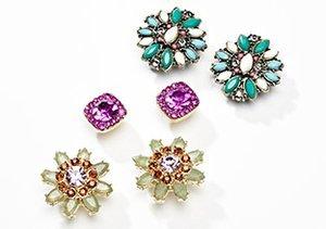 Tiny Treasures: Stud Earrings