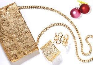 KiraKira Jewelry & Clutches