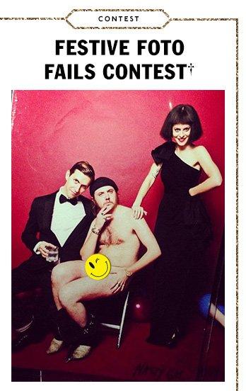 Festive Foto Fails Contest