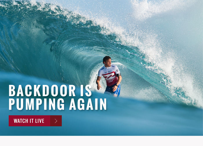 Backdoor is pumping again - watch it live