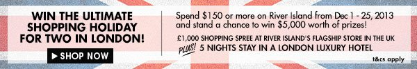 Spend and Win with River Island