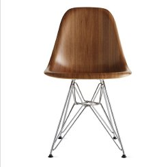 EAMES® MOLDED WOOD SIDE CHAIR | IN STOCK