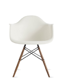 EAMES® MOLDED PLASTIC ARMCHAIR