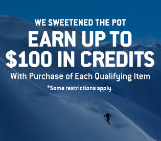 Earn up to $100 in Credits