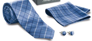 Buy the Tie, Cufflinks and Hankie Set