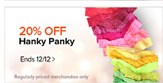 20% Off Hanky Panky