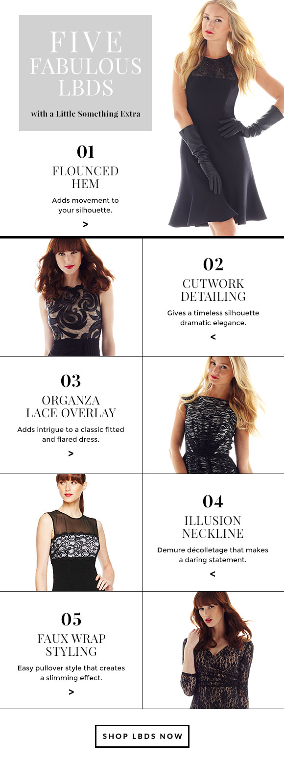 Five Fabulous LBDs