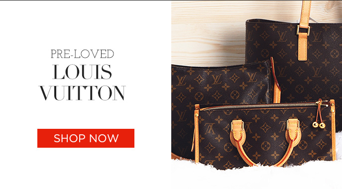 Pre-loved Louis Vuitton. Shop Now