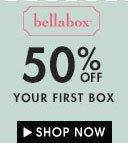 50% first box bellabox