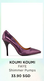 KOUMI KOUMI FAYE Shimmer Pumps