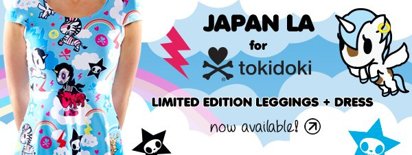 Check out our new limited edition collection with Japan LA, now available in-store and online!