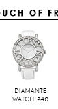 London Diamante Watch
