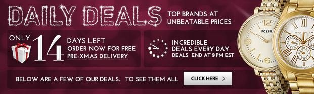 New Holiday Deals, Every Day
