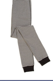 Skinny Stripe Thermal Leggings