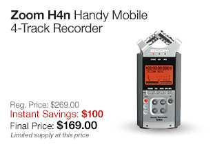 Zoom H4n Handy