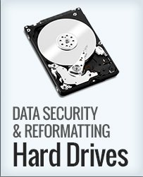 data security and reformatting hard drives