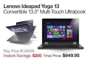 Lenovo Ideapad Yoga 13 Convertible