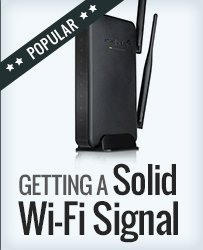 Boosting your Wifi Signal at Home and Office