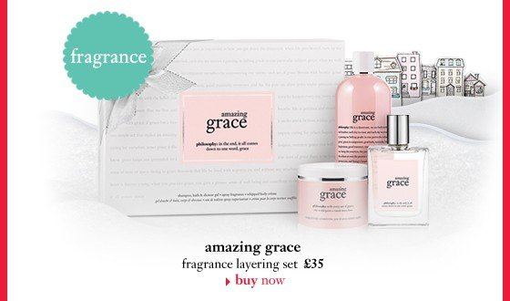 fragrance amazing grace fragrance layering set £35
