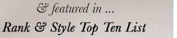 Rank & Style Top 10 List