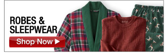 robes & sleepwear - click the link below