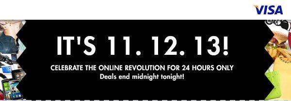 The Online Revolution! 11.12.13
