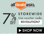 All deals asia 7% off