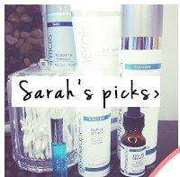 Sarah's picks