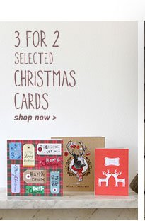 3 for 2 Christmas Cards