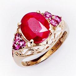 Jewelry Gifts for Her: Emerald, Ruby, and Sapphire Blowout Starting at $10