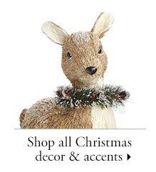 Shop all Christmas decor & accents