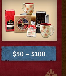 Gifts between $50 and $100