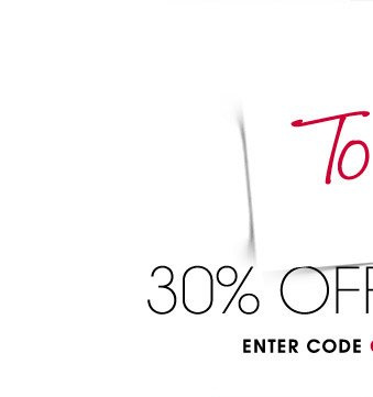 2 DAYS ONLY! To me, with love. 30% OFF EVERYTHINNG. ENTER CODE GIFTS AT CHECKOUT BY 12/12.