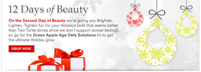 12 Days Of Beauty: Day 2 – The Age Defy Solution