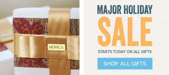 Major Holiday SALE - Starts Today On All Gifts - Shop All Gifts