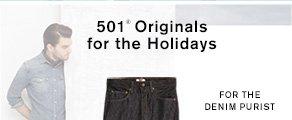 501® Originals for the Holidays