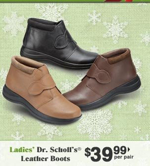 Ladies' Dr. Scholl's Leather Boots