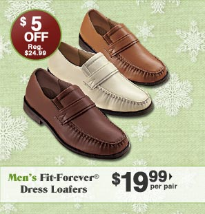 Men's Fit-FOrever Dress Loafers