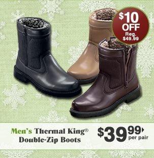 Men's Thermal King Double Zip Boots