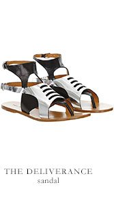 THE DELIVERANCE sandal