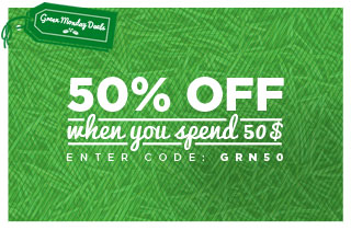 50% off Spend $50