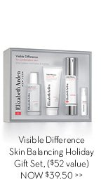 Visible Difference Skin Balancing Holiday Gift Set, ($52 value) NOW $39.50.