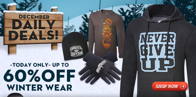 Get up to 60% off Winter Wear